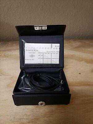 Bruel Kjaerprimo 6-111693 Microphone New W Bk Cal Cert