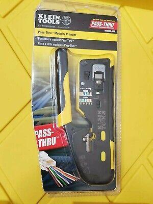 Klein Tools Pass-thru Modular Crimper Vdv226-110 New-open Box