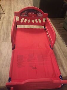 Toddler cars bed with Simmons mattress !!!!  Kitchener / Waterloo Kitchener Area image 5
