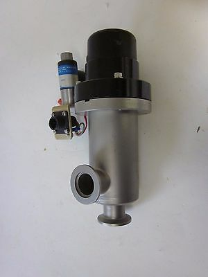 Hps Gate (HPS MKS Vacuum Bellows Sealed Angle Gate Valve NW-25, 1