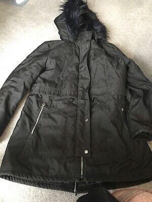 Jessica Simpson Black Coat Ladies Large