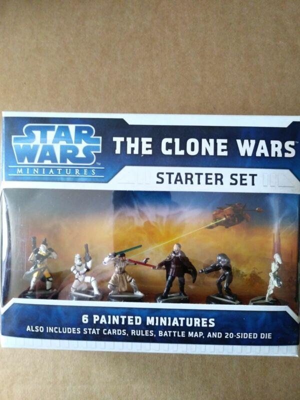 "Star Wars ""The Clone Wars Starter Set"" Mint New Sealed"