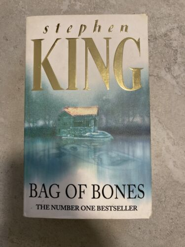 Bag Of Bones By Stephen King 1999, Paperback, Reprint  - $2.50