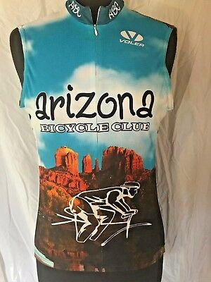 1aae0e433 Voler Cycling Race Jersey AZ BICYCLE CLUB RIDE AZ Raglan Sleeveless Women  Large