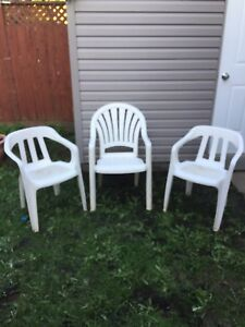 ***** 3 Terrace Chairs *****