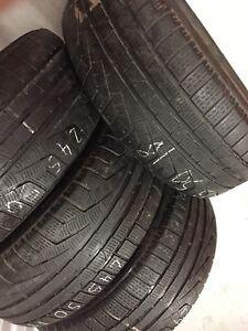 Pirelli Runflat Winter Tires 245/40/18