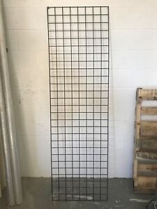 Grid wall grid wire retail display