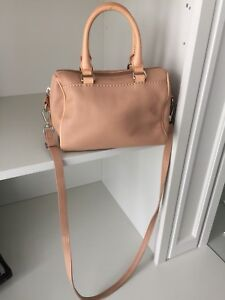 ROOTS Canada Crossbody tan Leather purse BRAND NEW