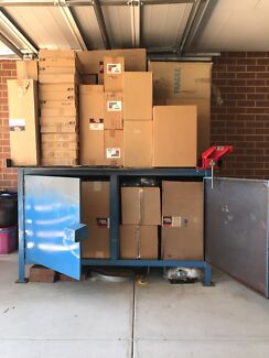 Steel Work Bench / Site box