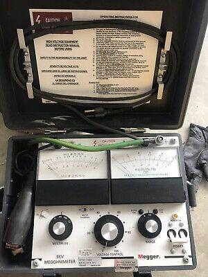 Fluke 1550c 5kv 5000v Insulation Resistance Ohm Tester Megohmeter Tool W Case