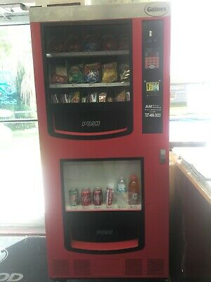 Used Redblack Gaines Vm-750 Snack And Drink Vending Machine