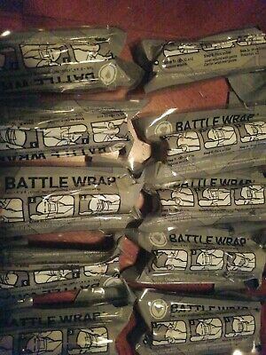 Lot Of 10 Pack Battle Wrap Translucent Medic Tape Transparent Clear See Through