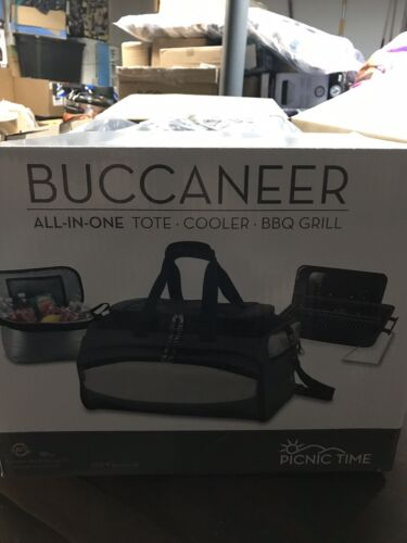 Buccaneer All-in-one Tote Cooler BBQ Grill