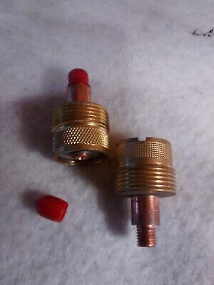2 Pack Tig Welding Large Gas Lens 45v64s For Torch Wg 9 20 25 332 2.4mm