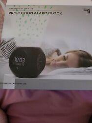 Sharper Image Sound Machine Stars Projection Digital Alarm Clock (New)