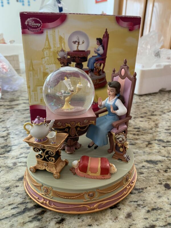 BEAUTY & the BEAST Snowglobe Be Our Guest