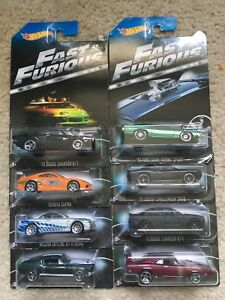 2014 Hot wheels Fast and Furious set