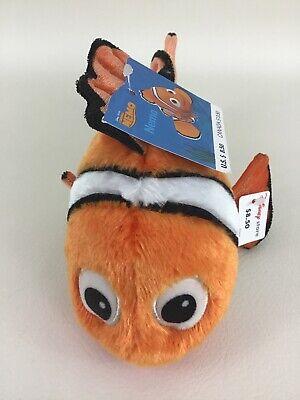 Disney Store Finding Nemo Clown Fish Plush Stuffed Toy 8