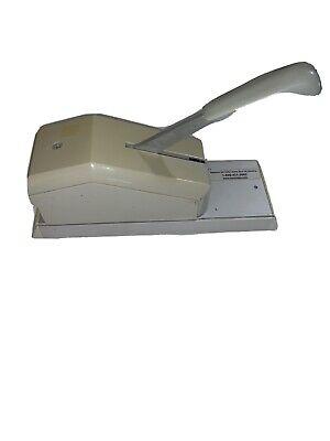 Addressograph Bartizan Credit Card Imprinter
