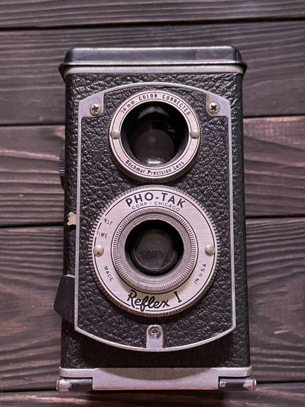 Vintage 1950's Reflex-1 Pho-Tak Twin Lens