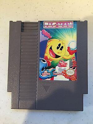 PAC-MAN NAMCO NINTENDO SYSTEM GAME ORIGINAL RARE VERSION CLASSIC NES HQ