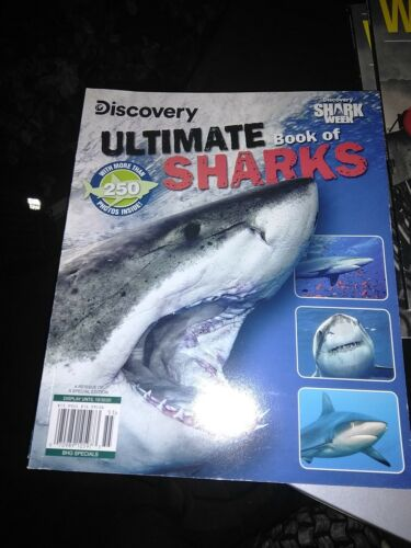 Discovery Ultimate Book Of Sharks 2020 Shark Week Special Edition - $3.00