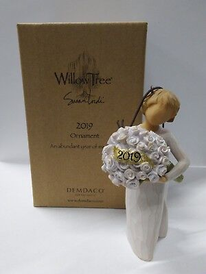 Willow Tree Annual Ornament 2019 Wedding Baptism Graduation Christmas Gift