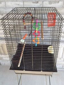Bird Cage with stand for Lovebirds, small parrots etc