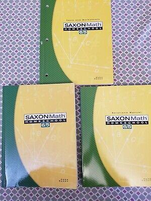Saxon Math 6/5 Homeschool Kit by Stephen Hake and Saxon