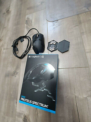 Logitech G502 Proteus Spectrum RGB Tunable Gaming Mouse 910-004615