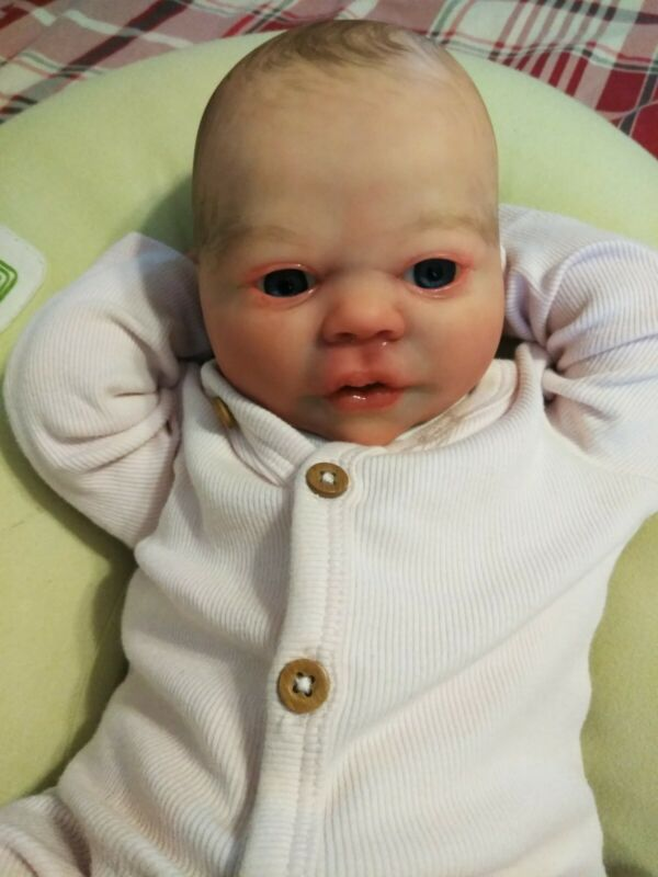 Realborn Ever Awake by bountiful baby. Reborn ooak art doll