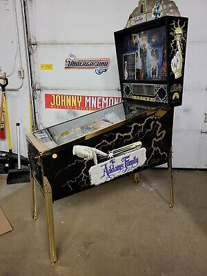 Addams Family Gold pinball machine