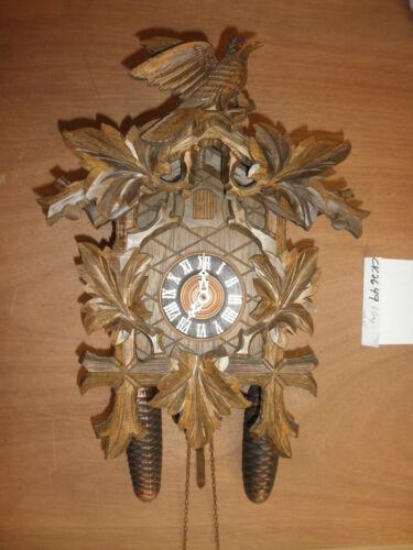 German Black Forest made Linden Wood  8 Day Cuckoo Clock CK2649
