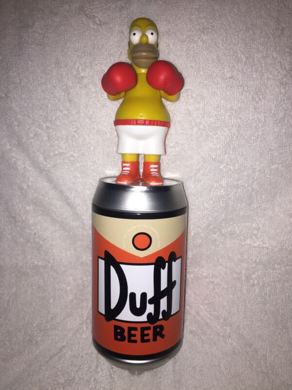 Duff Beer Custom Keg Tap Handle Boxing Homer Simpson Man Cave Christmas Xmas!!!