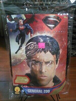 Superman Man Of Steel General Zod Adult Costume Wig Halloween NEW