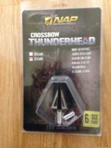 New Thunderhead broadheads