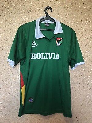 Bolivia NATIONAL TEAM 2005/2006 HOME FOOTBALL SHIRT CAMISETA MAGLIA EVERCOOL image