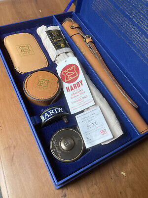 Hardy The Compleat Angler boxed set Smuggler fly rod Golden Prince reel etc
