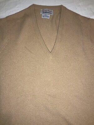Vintage ballantyne cashmere v- neck sweater