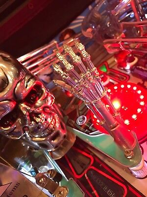 Terminator 2 T2 Pinball Machine TERMINATOR ARM LED mod Bally's/Williams for sale  Shipping to Canada