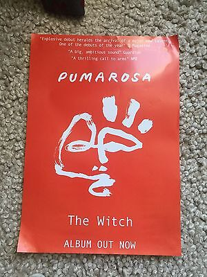 Pumarosa - The Witch  Promo poster -mint