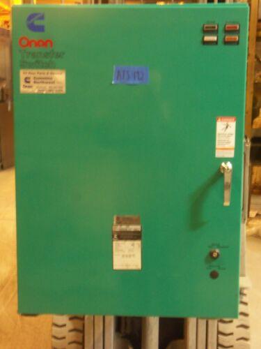 Cummings 150 Amp ATS Automatic Transfer Switch 480v/277v 3 Phase 4 Pole