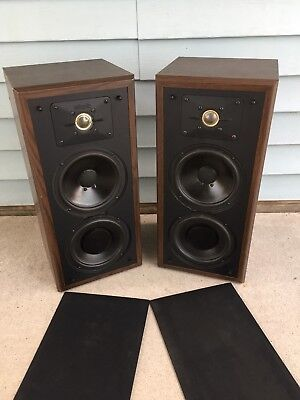 Polk Monitor Serie (Polk Audio Monitor 5JR Series Original TESTED Works Speakers Woofers Vintage)