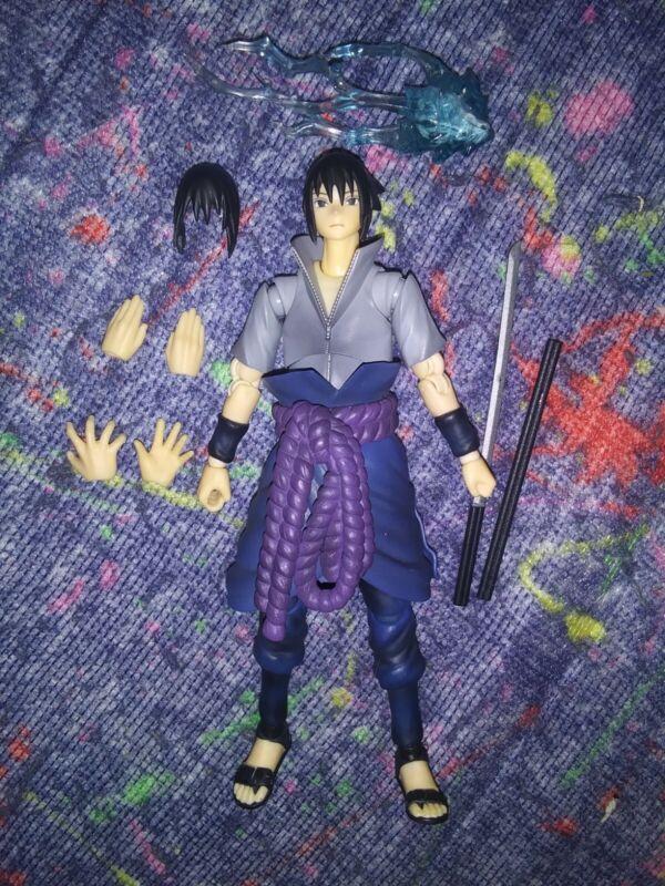 Bandai S.H. Figuarts Naruto Shippuden Uchiha Sasuke Action Figure 1/12