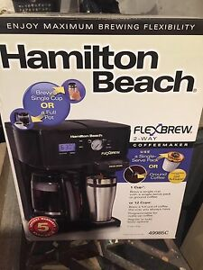 Programable coffee maker/k cup maker