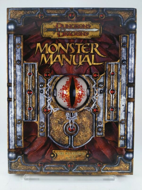 Dungeons & Dragons: Monster Manual - Core Rulebook III v3.5