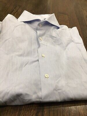 Finamore Napoli 1925 Men's Dress Shirt Size 16.5/42