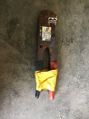 Thomas Betts Wt145c Manual Ratcheting Crimper