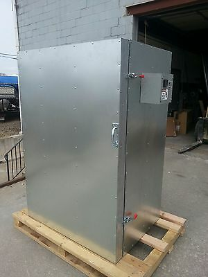 New Powder Coating Batch Oven 2x4x5 With 2shelves And A Circulation Fan