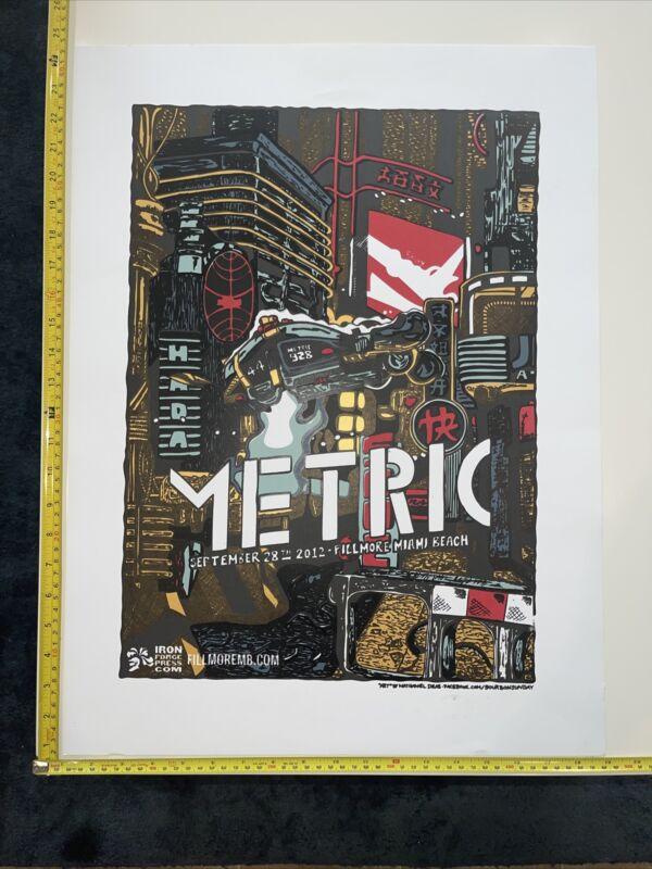 Metric Band Rare Event Fillmore Miami Beach